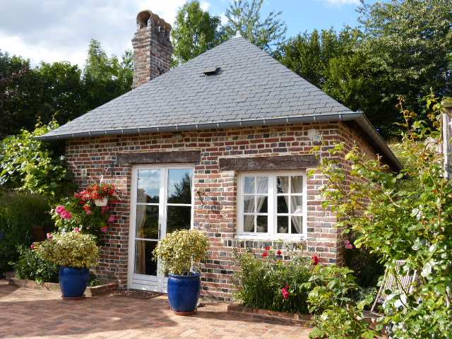 les petits matins bleus les pommiers g te rural has sainte marguerite de viette calvados 14. Black Bedroom Furniture Sets. Home Design Ideas